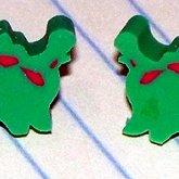 Tiny Dino Earrings!