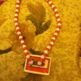 Cassette Earaser Nacklace