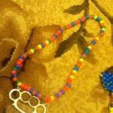 Brass Knuckles Nacklace