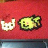 Pikachu Perler Bead Peyotes