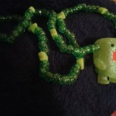 Green Domo Necklace(:
