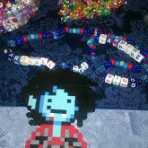 Marshall Lee Perler Necklace
