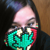 Kandi Mask for my Big Bro :)