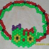 Uper Thigh Zombie Hello Kitty Double Bracelet