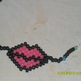 Glow In The Dark Dahvie Lips Necklace