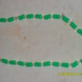 Green And Clear Necklace