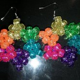 Galaxy Rainbow Star Earrings