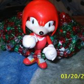 Knuckles From Sonic 3d Cuff