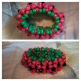 Watermelon Themed 3d Cuff