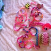 Kandi I Wear When I Dress In Pink
