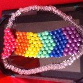 Rainbow Shiny Tie #2