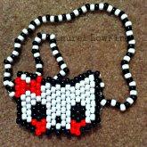 Zombie Hello Kitty Necklace