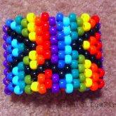 Rainbow Face Cuff
