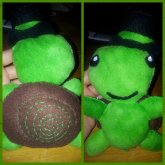 Turtle N Top Hat Plush