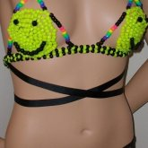 Sexy 90s Inspired Smiley Kandi Bikini