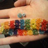 X Base Cuff With TINY TINY Beads!!
