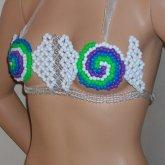 Yummy Candy Pieces Bikini Top