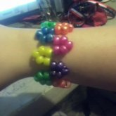 My First Squiggly Cuff O3o