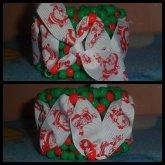 Christmas Ribbon Cuff