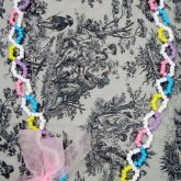 Pastel Hearts & Swirl Necklace II (Now With Bow <3)