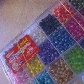 2300 Beads Organized