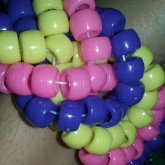 Kandi Fishtail Cuff The Purple Looking Part Is Act