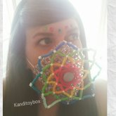 Mandala Kandi Mask