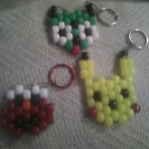 My First 3 Keychains!