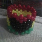 My Rasta Heart Cuff