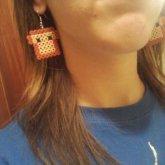 Toast Earrings