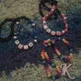PLUR, FISH, And K Necklaces