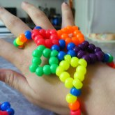 Kandi Star Glove Thing