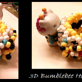 3D BUMBLEBEE HELLO KITTY CUFF