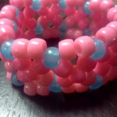 X - Based Cuff Pink