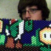 Yoshi Bag In Progress