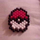 A Peyote Stitch Pokeball
