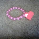 Perler Bead Heart On A Single