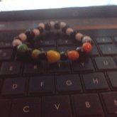 Rainbow Rock Beads C;