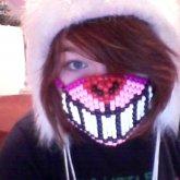Cheshire Cat Mask!(: