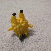 3D Pikachu Back