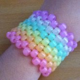 Glow Rainbow Cuff