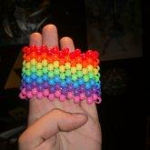 New Rainbow Cuff <3