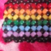 Rainbow X Cuff
