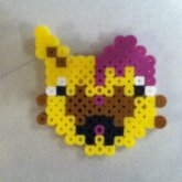 Drop Dead Kitty Brainz Fuse Bead