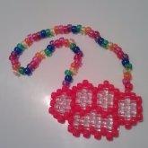 Brass Knuckles Necklace :3