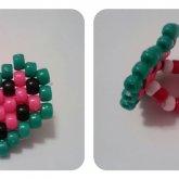 Watermelon Heart Ring.:3