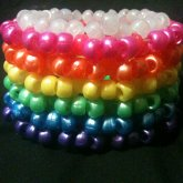 Rainbow Phattie Cuff