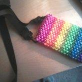 Rainbow Purse Thingy X3