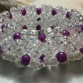 Clear And Purple 3D