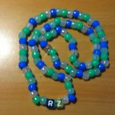 RZ Necklace Blue And Green